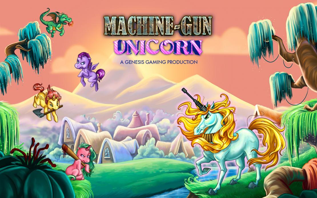 Machine Gun Unicorn Slot Game Review