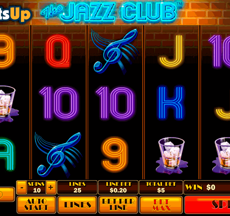 The Jazz Club Online Slots