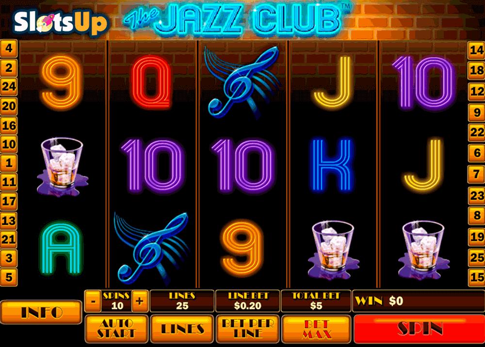The Jazz Club Online Slots