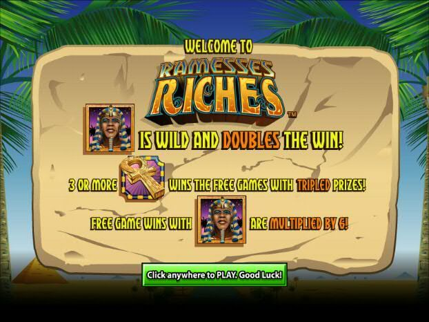 Ramesses Riches by Amaya Gaming