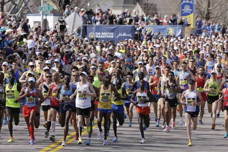 The Growth of the Boston Marathon