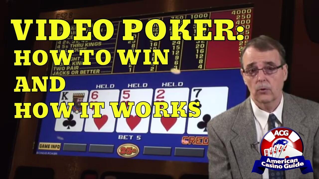 Understanding Video Poker