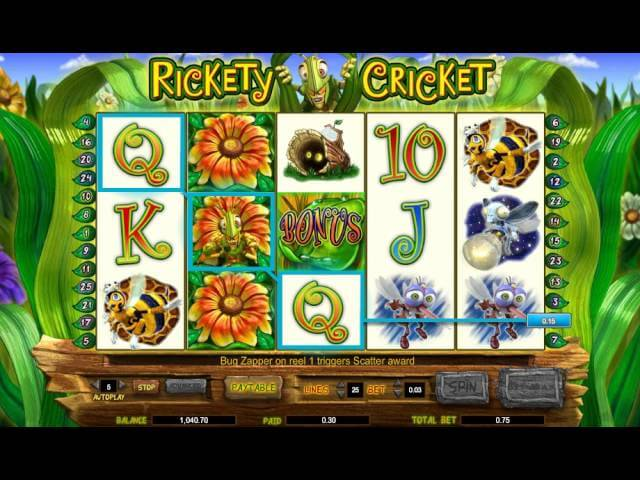 Rickety Cricket Online Slot