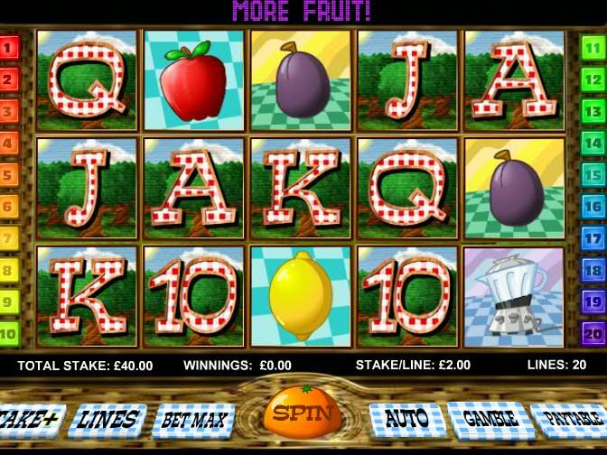 Fruit Smoothie Slot Review
