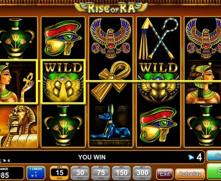 Rise Of Ra Slot Game