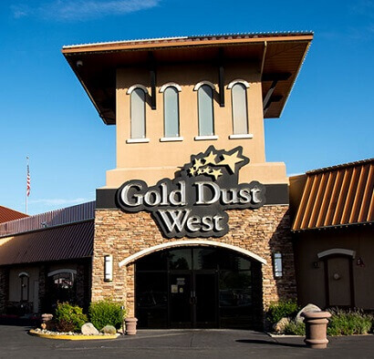 Overview of Gold Dust West Hotel and Casino